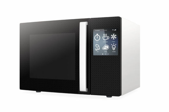 Forno touch screen
