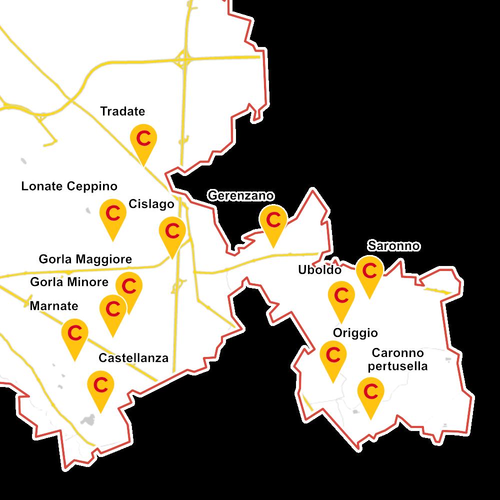 assistenza provincia di varese